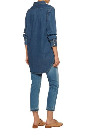M.I.H JEANS Oversized denim shirt