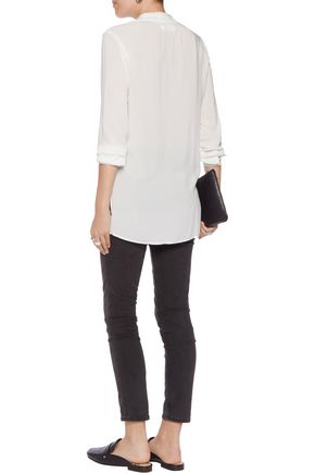 VELVET by GRAHAM & SPENCER Crepe blouse