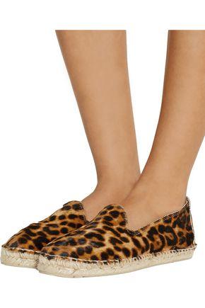 MANEBÍ Accra leopard-print calf hair espadrilles