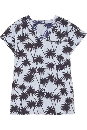 TOMAS MAIER Printed cotton-poplin top