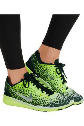 NIKE Free Tr 5 Print mesh sneakers