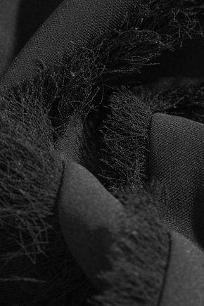 ALTUZARRA Cezanne frayed crepe top
