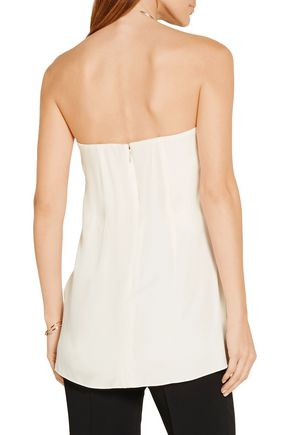ADAM LIPPES Strapless crepe bustier top