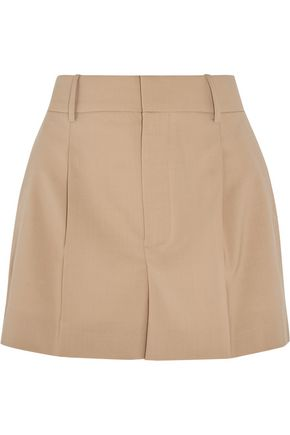 CHLOÉ Stretch-wool shorts
