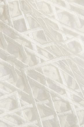 3.1 PHILLIP LIM Embroidered organza top