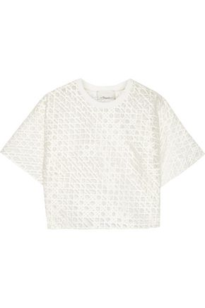 3.1 PHILLIP LIM Embroidered organza top