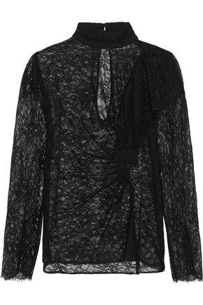 TOPSHOP UNIQUE Burnthwaite ruffled lace top