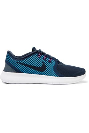 NIKE Free RN Commuter mesh and jersey sneakers