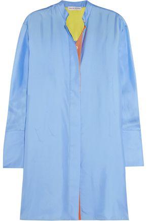 JONATHAN SAUNDERS Motley oversized silk-twill tunic