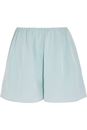 ELIZABETH AND JAMES Jackie silk-chiffon shorts