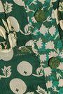 ANNA SUI Printed silk-georgette playsuit