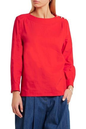 A.P.C. Stretch-voile top
