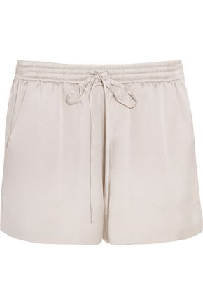 CHLOÉ Silk-satin shorts