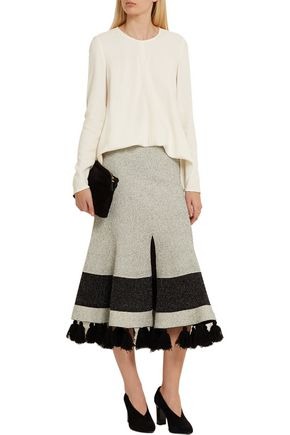 PROENZA SCHOULER Tie-side crepe top