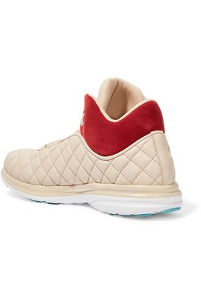 APL® ATHLETIC PROPULSION LABS Lusso quilted leather high-top sneakers