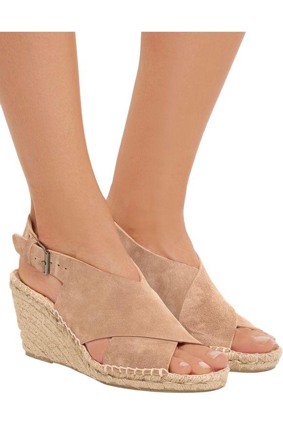 d3a632bab5 Sabrina suede espadrille wedge sandals | VINCE. | Sale up to 70% off ...