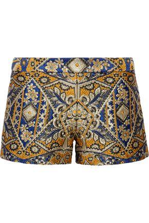 ALICE+OLIVIA Brocade shorts