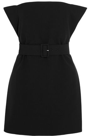 SOLACE LONDON Ammie strapless belted crepe top