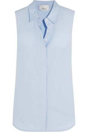 3.1 PHILLIP LIM Paneled cotton shirt