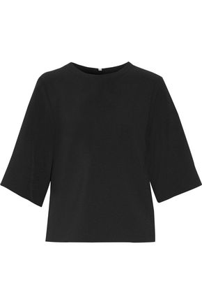 ACNE STUDIOS Stretch-crepe top