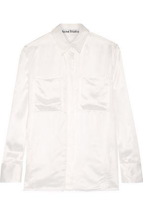 ACNE STUDIOS Momo Vi Tw satin-twill shirt