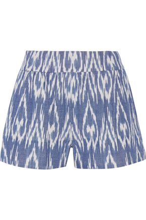 ALICE + OLIVIA Woven cotton shorts