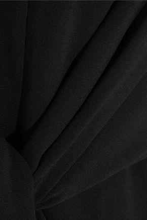 J.W.ANDERSON Tie-front crepe top
