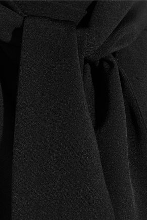 JUAN CARLOS OBANDO Margo open-back silk-crepe blouse