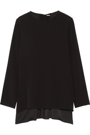 ADAM LIPPES Crepe top