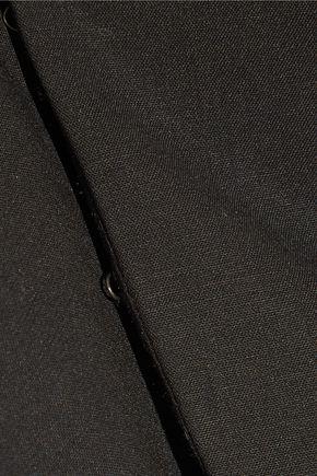 ROSIE ASSOULIN Cutout stretch-wool bustier top