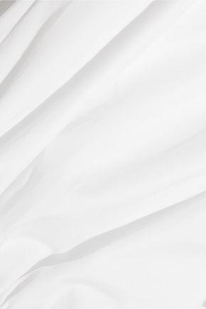 •ELLERY• Regency cropped cotton-poplin shirt