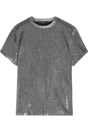 •ELLERY• Damsel metallic knitted top