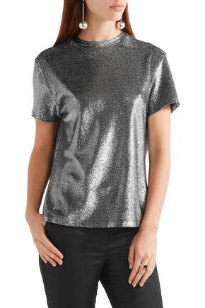 •ELLERY• Damsel metallic knitted top