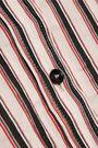 ISABEL MARANT Striped ramie and silk-blend shirt