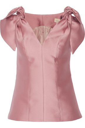 MERCHANT ARCHIVE Duchesse-satin top
