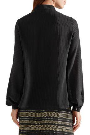ZEUS + DIONE Iocaste silk-chiffon blouse