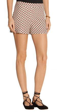 ALICE + OLIVIA Marisa jacquard shorts