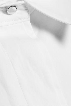 PROENZA SCHOULER Cotton-blend poplin shirt