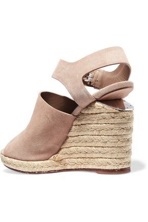 ALEXANDER WANG Tori suede wedge sandals