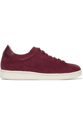 IRIS AND INK Portland suede sneakers