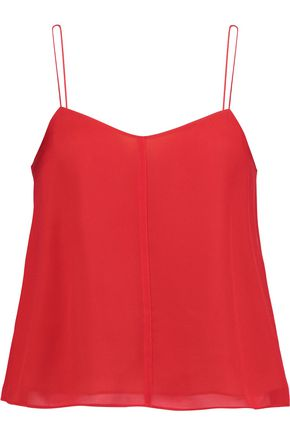 T by ALEXANDER WANG Layered silk camisole