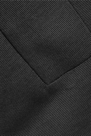 ELLERY Amethyst oversized faille top