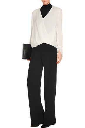 3.1 PHILLIP LIM Wrap-effect silk blouse