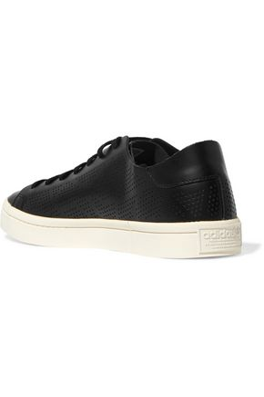 ADIDAS ORIGINALS Court Vantage perforated leather sneakers