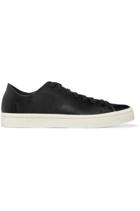 ADIDAS Court Vantage perforated leather sneakers