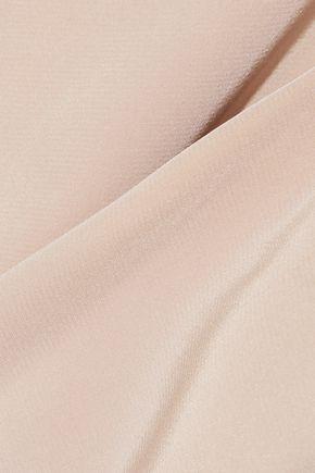 TIBI Cutout silk crepe de chine top