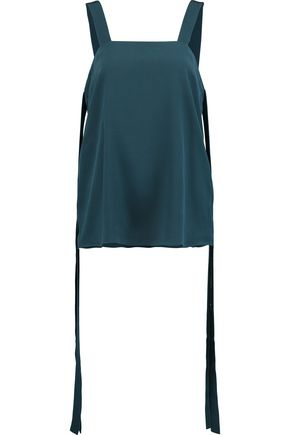 TIBI Silk crepe de chine top