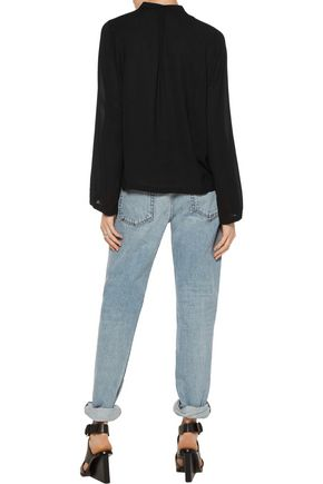 HELMUT LANG Piqué blouse