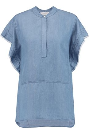 3.1 PHILLIP LIM Stonewashed chambray top