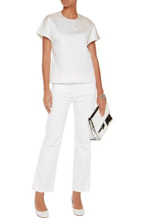 ROKSANDA Bethany cotton-poplin top